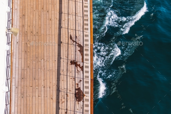 Cruise Ship Deck Concept - Stock Photo - Images
