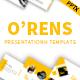 O'rens - Google Slide Presentation Template - GraphicRiver Item for Sale