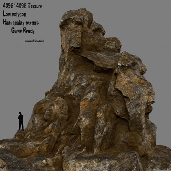 3DOcean rock 7 20912934