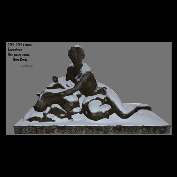 3DOcean woman statue 4 20912970