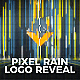 Pixel Rain Logo Reveal - VideoHive Item for Sale