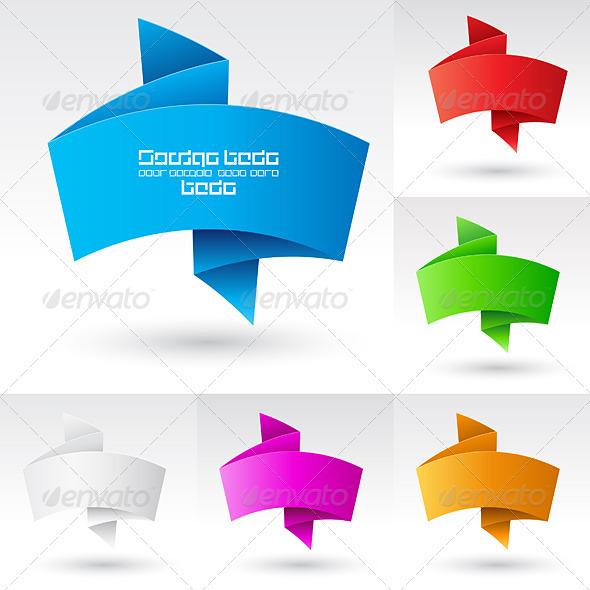 Banners set. - Characters Vectors