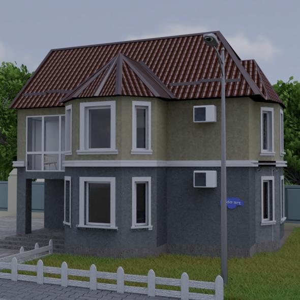 3DOcean house 20913325