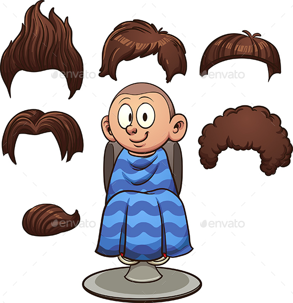 Boy Haircuts - People Characters