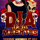 Dia De Los Muertos Flyer Template - GraphicRiver Item for Sale