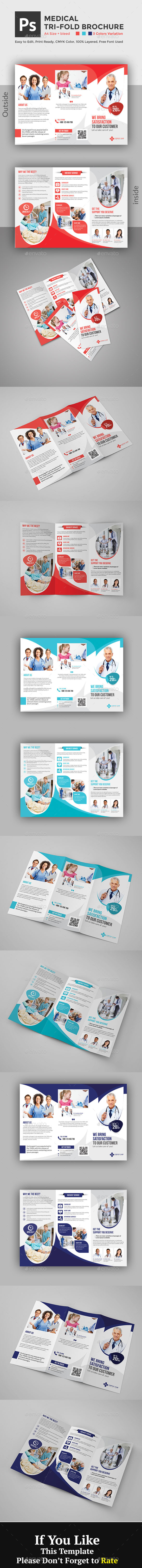 GraphicRiver Medical Brochure 20914372