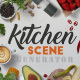 Kitchen Scene Generator - GraphicRiver Item for Sale