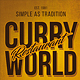 Curry World Retro Single Page Menu A4 and US Letter - GraphicRiver Item for Sale