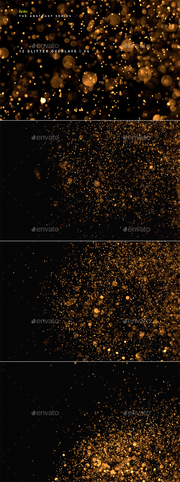 Glitter Overlays V4 - Abstract Backgrounds