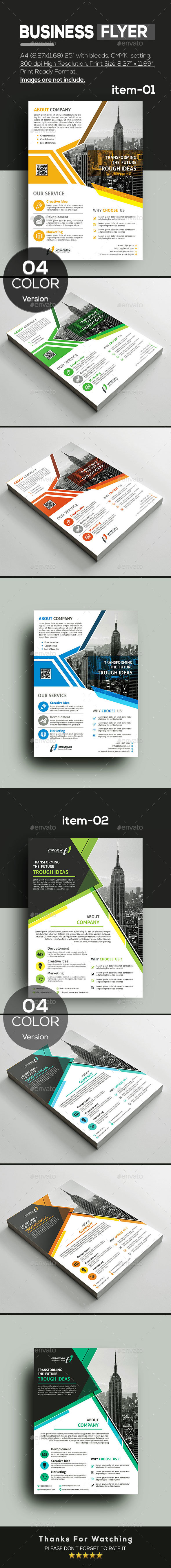 GraphicRiver Flyer Bundle 2 In 1 20914632