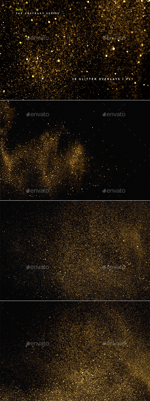 Glitter Overlays V11 - Abstract Backgrounds