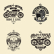 Motorclycle Club Badges Design Vol.2