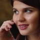 Beautiful Business Woman Talking on the Phone Smiling and Talking About Her Trip on Vacation. . - VideoHive Item for Sale