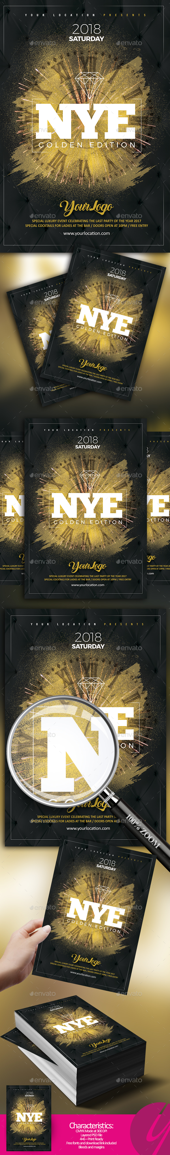 New Year Golden Edition - Clubs & Parties Events