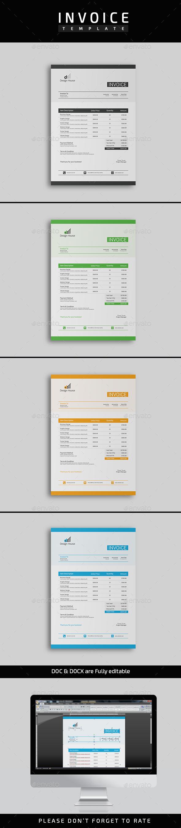 GraphicRiver Invoice 20915766