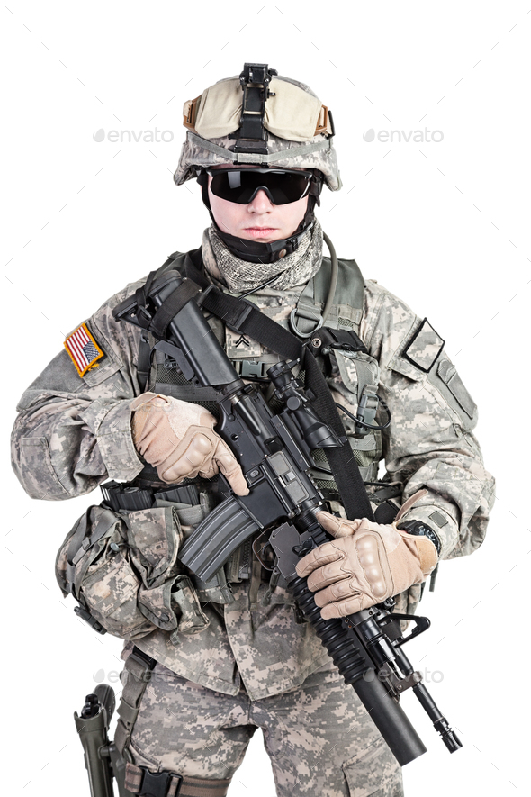 paratrooper airborne infantry - Stock Photo - Images