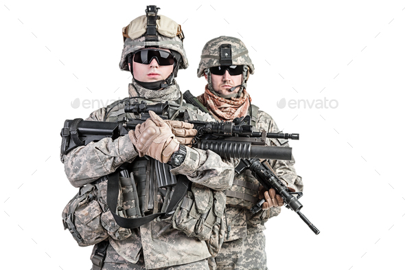 paratroopers - Stock Photo - Images