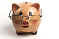 Piggy Bank With Glasses - PhotoDune Item for Sale