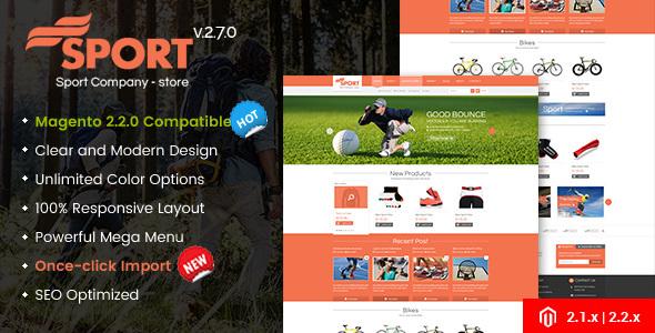 SM Sport - Responsive Magento 1.9 and Magento 2 Theme - Shopping Magento