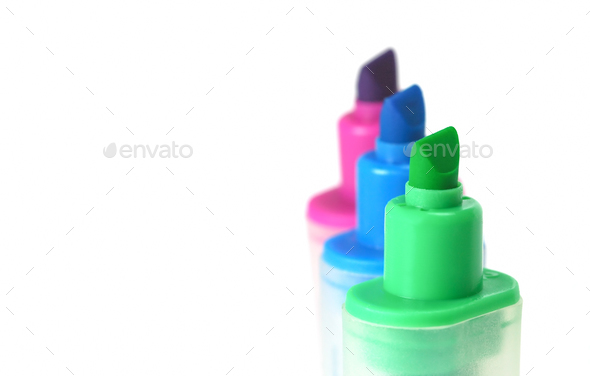 highlighter pens - Stock Photo - Images