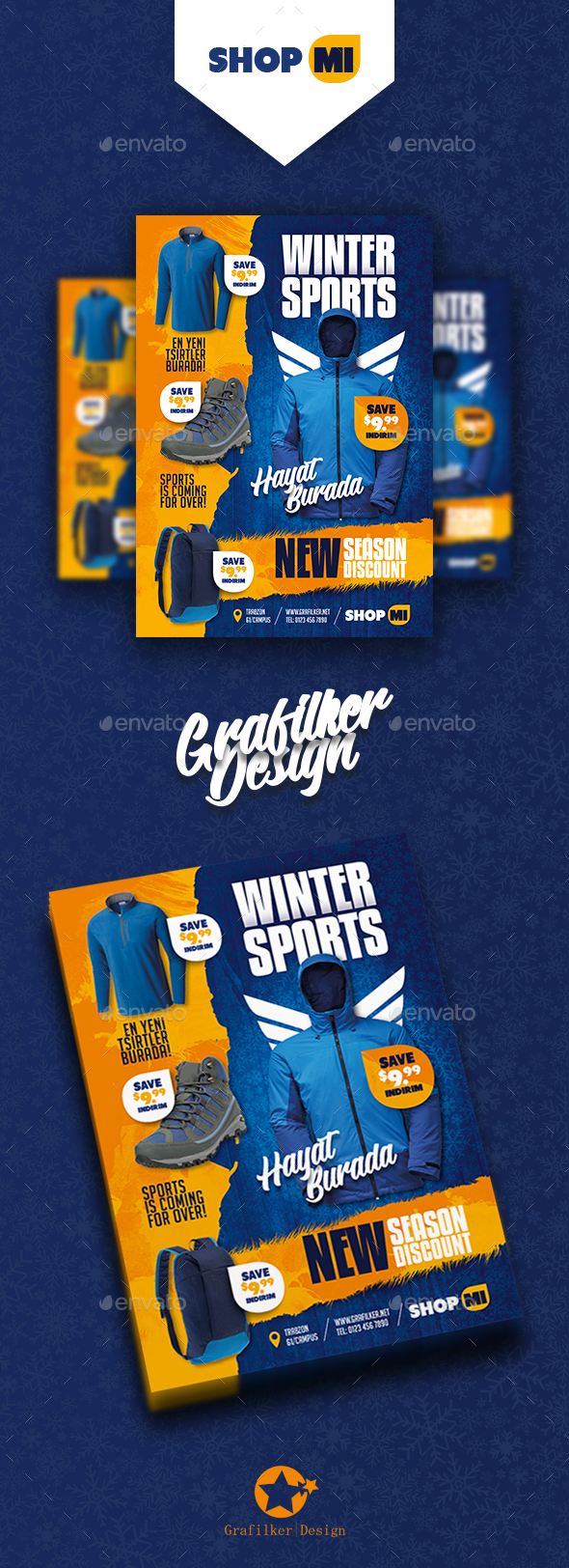 Shopping Product Flyer Templates - Corporate Flyers