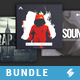 Trap Sound Collection - CD Cover Artwork Templates Bundle