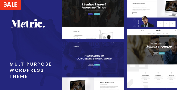 Metric – Multipurpose WordPress Theme