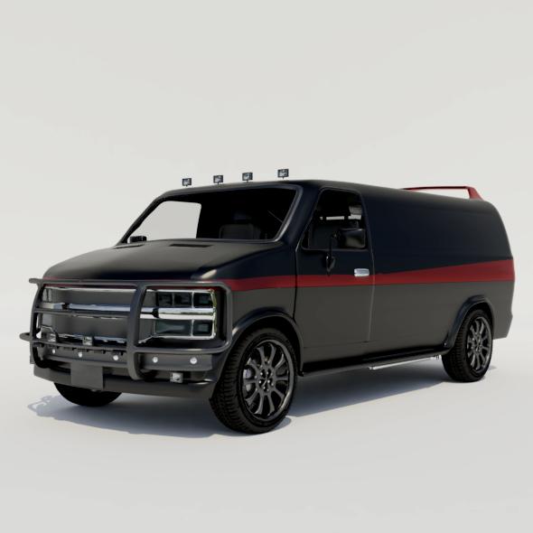 3DOcean Van 20916726