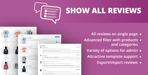 CodeCanyon WooCommerce Show All Review 20610782