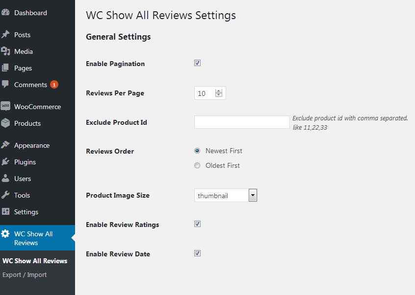 WooCommerce Show All Review by BiztechCS – Product Review Template