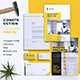 Builder | Construction Corporate Branding Identity - GraphicRiver Item for Sale
