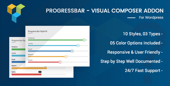 CodeCanyon Advance Progress Bar For Visual Composer 20916999