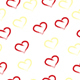 seamless tileable pattern with hearts - 3DOcean Item for Sale