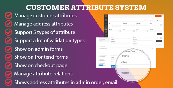 Magento 2 CE Customer Attribute System - CodeCanyon Item for Sale