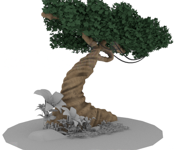 Old Tree - 3DOcean Item for Sale