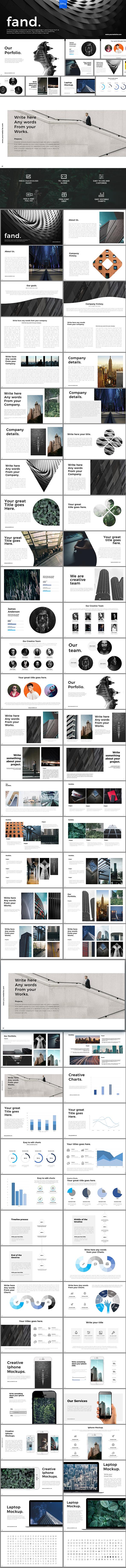 GraphicRiver Fand Powerpoint Presentation 20917503