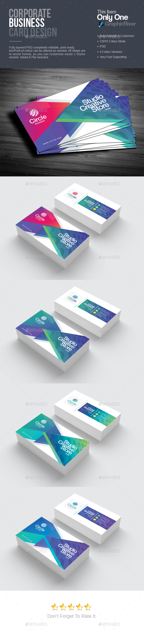 GraphicRiver Business Card 20917509