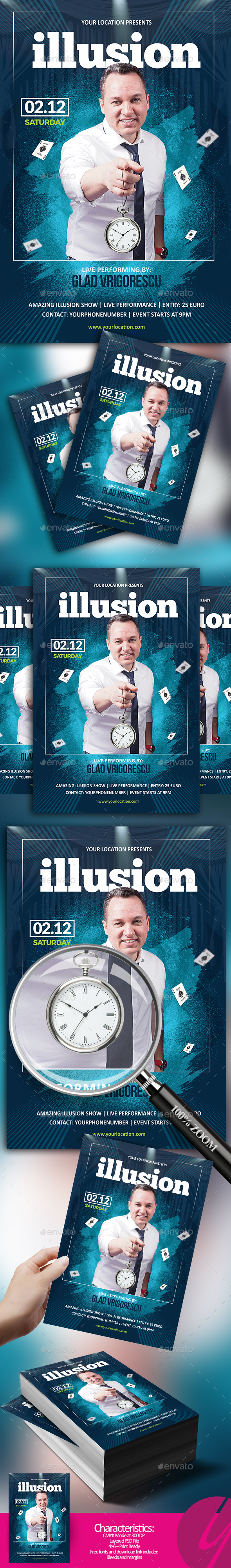GraphicRiver Illusion Show 20917527