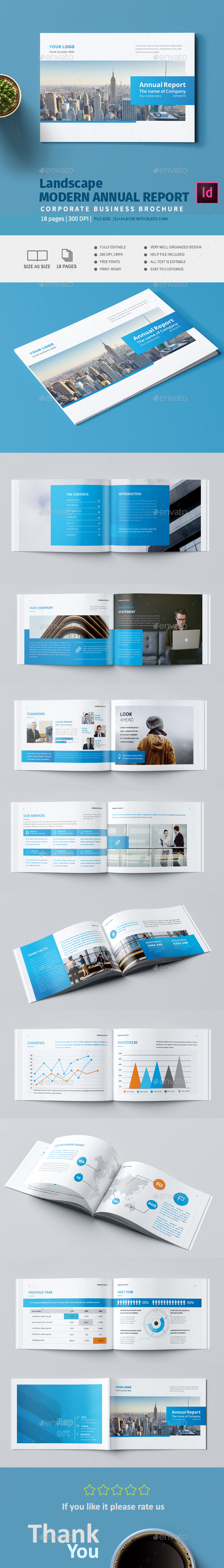GraphicRiver Landscape Modern Annual Report 20917530