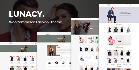 ThemeForest Lunacy WooCommerce WordPress Theme 20706740
