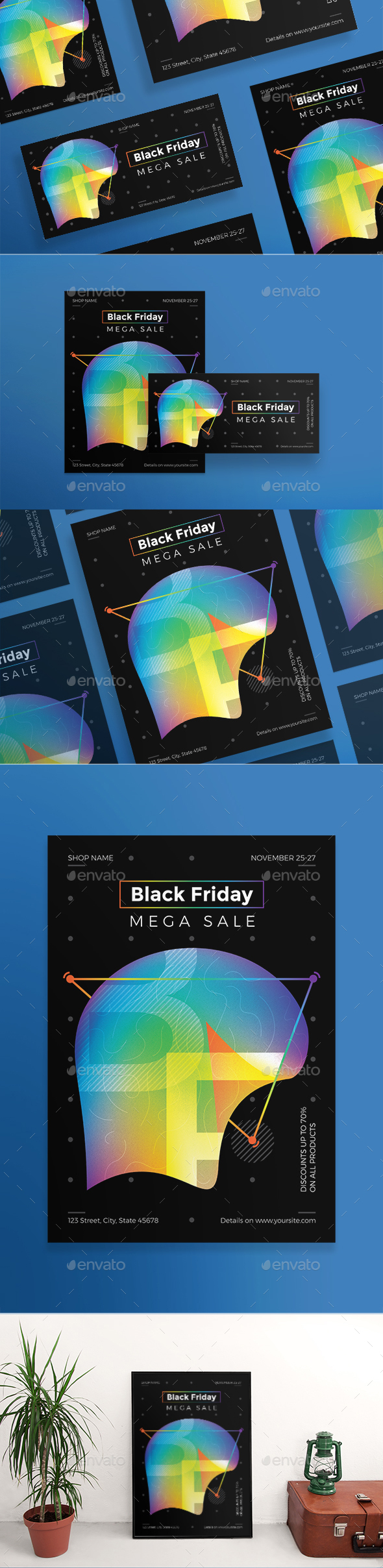 Black Friday Flyers - Holidays Events