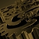 Stylish Business Background with Rotating Metal Gears for Presentation - VideoHive Item for Sale
