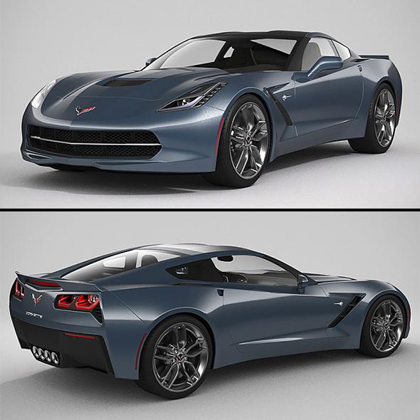 3DOcean Chevrolet Corvette 2014 20917868