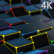 Tech Neon Cubes - VideoHive Item for Sale