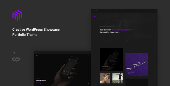 ThemeForest Cubez Creative WordPress Showcase Portfolio Theme 20918045