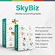 Skybiz Infographic Pack Google Slide Template