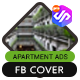 Facebook Cover Apartment Business - AN1