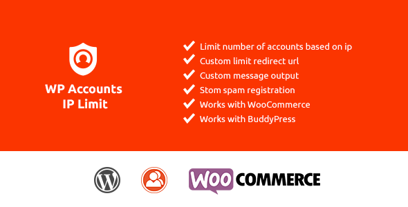 WP Accounts IP Limit Registration - CodeCanyon Item for Sale