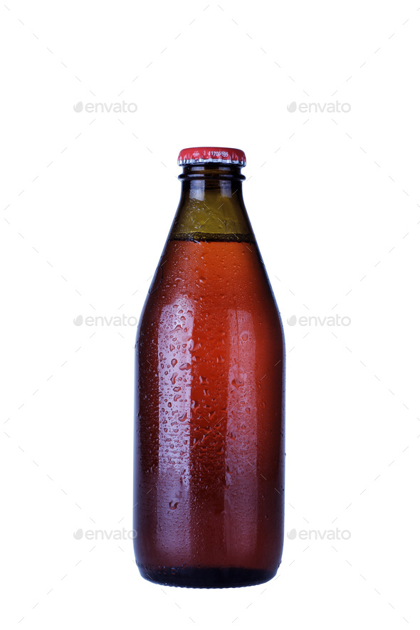 Drink Glass Bottle Isolated - Stock Photo - Images