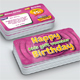 Kids Birthday Voucher Card - GraphicRiver Item for Sale